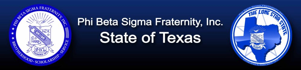 Phi Beta Sigma Fraternity, Inc. STATE OF TEXAS